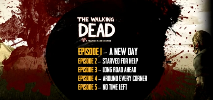 Episodes The Walking Dead Telltale Games