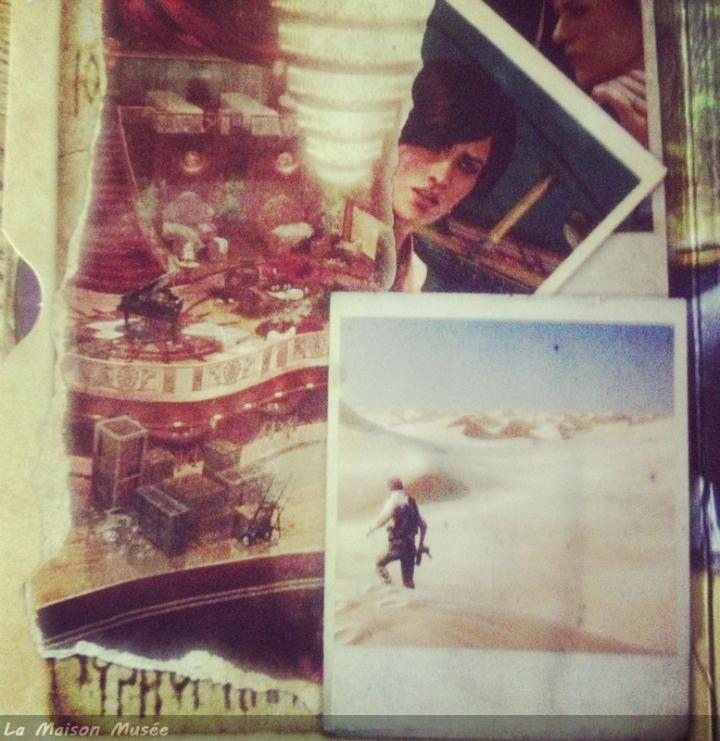 Souvenirs Nathan Drake Uncharted