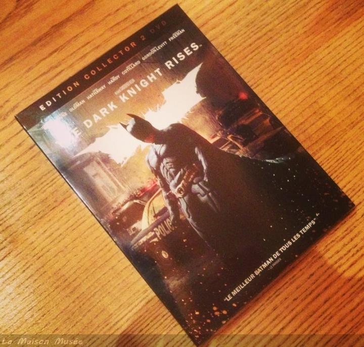 Rises Batman Edition Collector 2 DVD