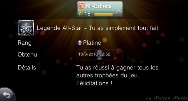 Trophee Platine PlayStation All-Stars Battle Royale