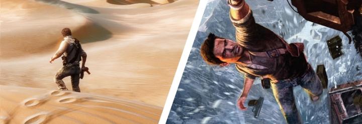 Uncharted 2 Uncharted 3