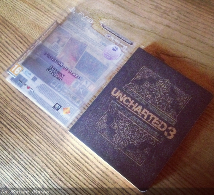 Uncharted 3 L'Illusion de Drake Edition Européenne