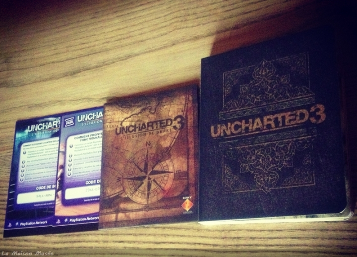 Uncharted 3 Collector Contenu
