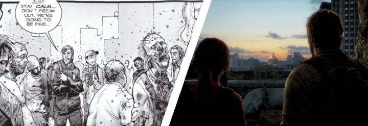 Walking Dead The Last of Us