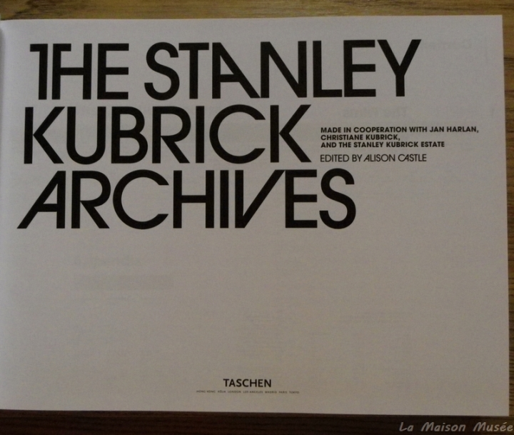 Avis The Stanley Kubrick Archives