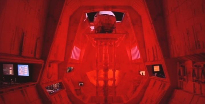 Decor 2001 L'Odyssee de l'espace