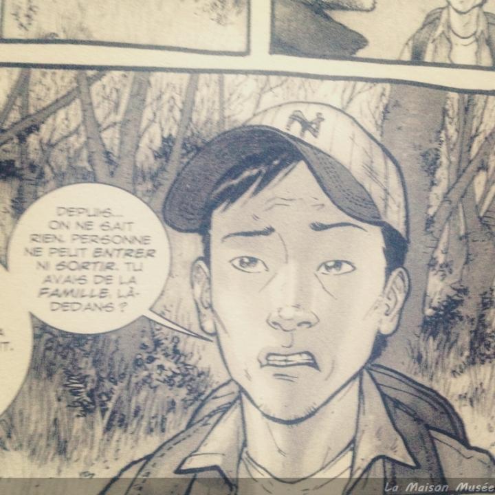 Glenn fait une apparition marquée dans The Walking Dead (Telltale Games). Tout porte à croire que la BD commence tout juste en simultanée à la moitié du jeu-vidéo.