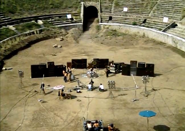 Installation Pink Floyd Concert Pompei