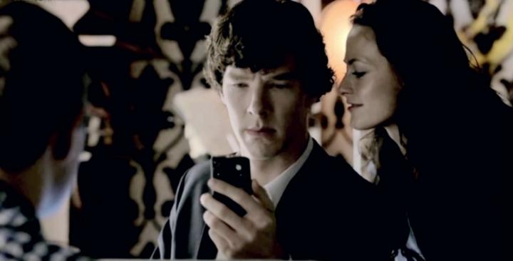 Iren Adler Sherlock Serie
