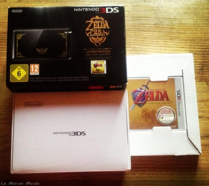 3 DS Zelda Contenu Console