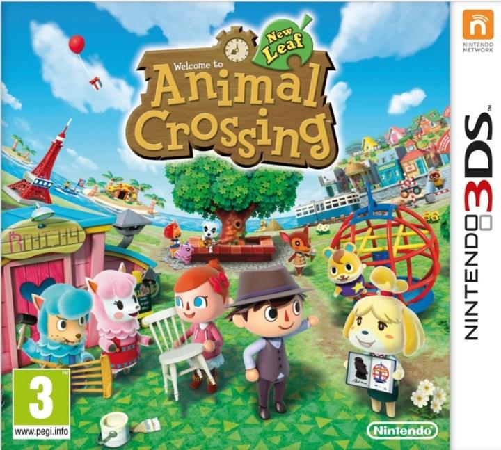 Animal Crossing 3DS PackShot
