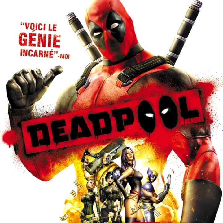 Artwork Deadpool VideoGame PS3