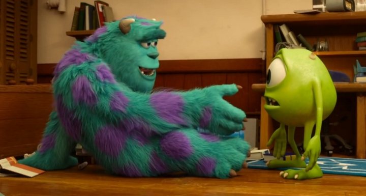 Bob et Sully Monstres et cie 2