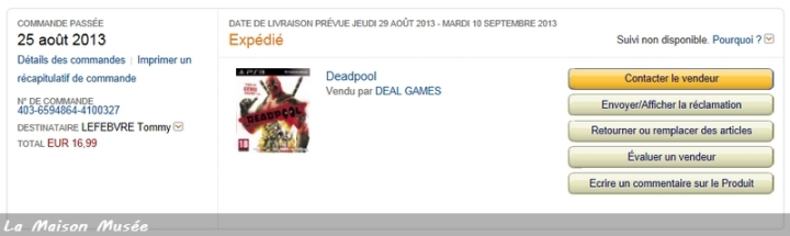 Bon Plan PlayStation Deadpool Activision