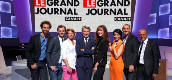 Equipe Antoine de Caunes Grand Journal Canal+