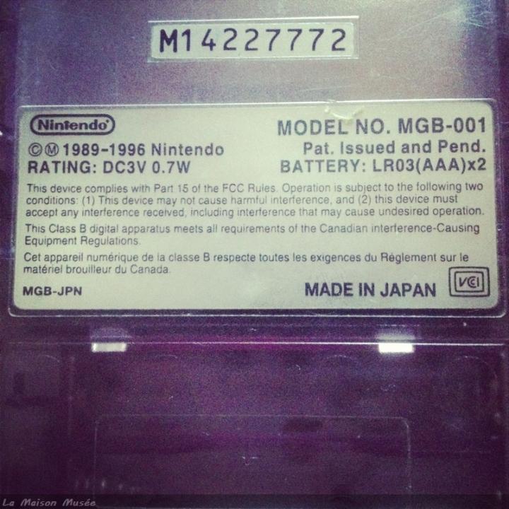 GameBoy Clear Model