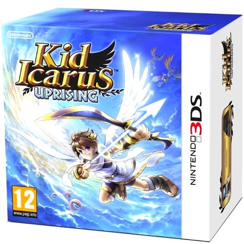 Kid Icarus Collector Coffret Carton