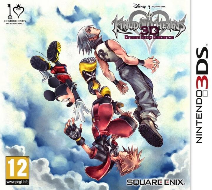 Kingdom Hearts 3D 3DS PackShot