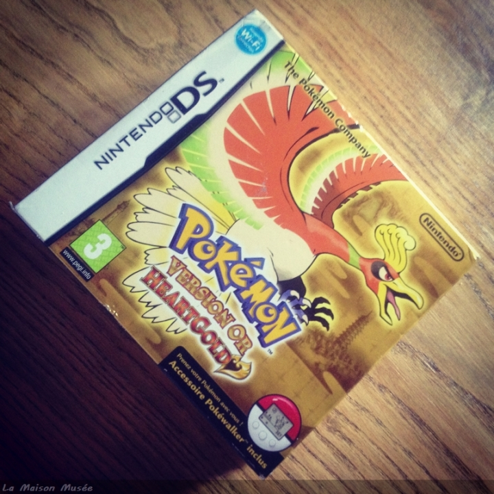 Pokemon Version Or HeartGold Boite