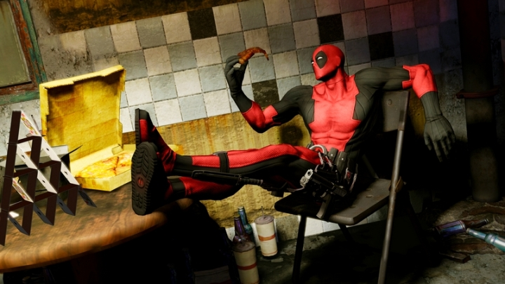 Artwork Deadpool Videogame