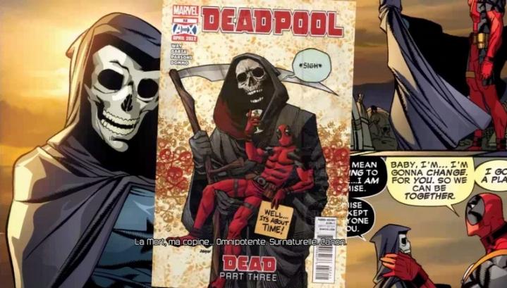 Extrait La Mort Deadpool