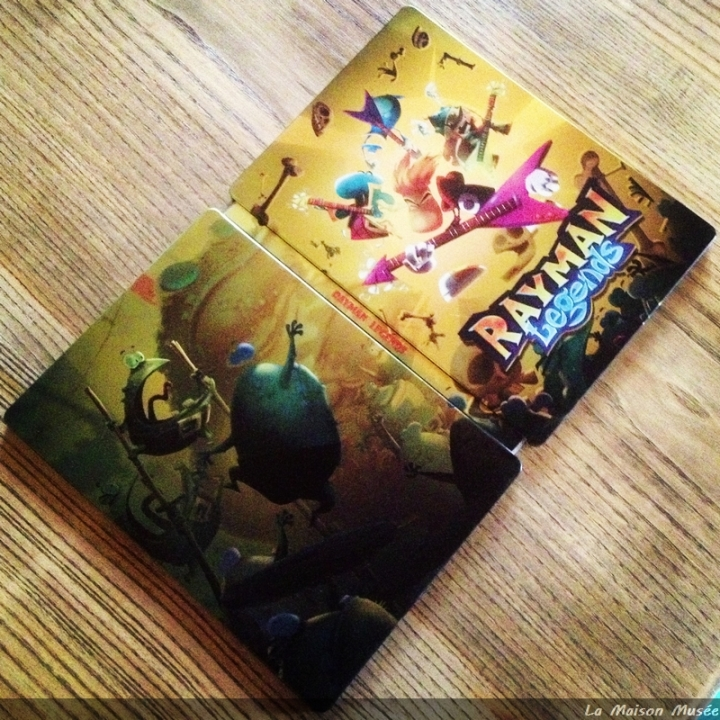 Steelbook Collector Rayman Legends Micromania
