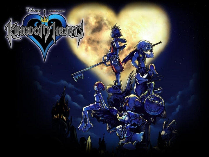 Kingdom Hearts Artwork HD Remix 1.5 Poster