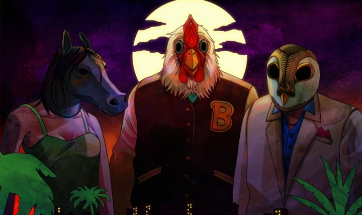 Masques Artwork Hotline Miami
