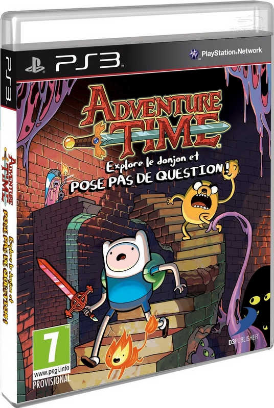 Packshot Adventure Time PS3
