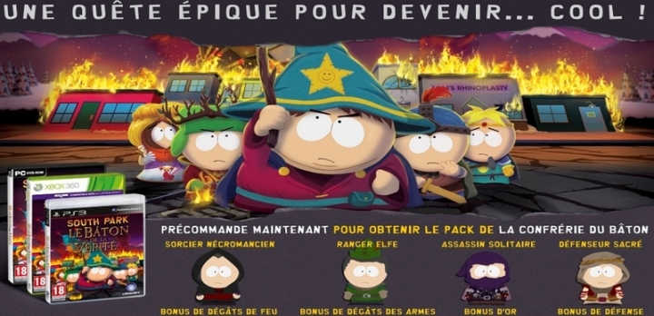 precommande bonus South Park France