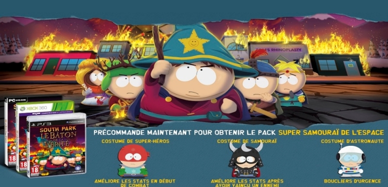 Publicite Poster Stick of truth south park PS3