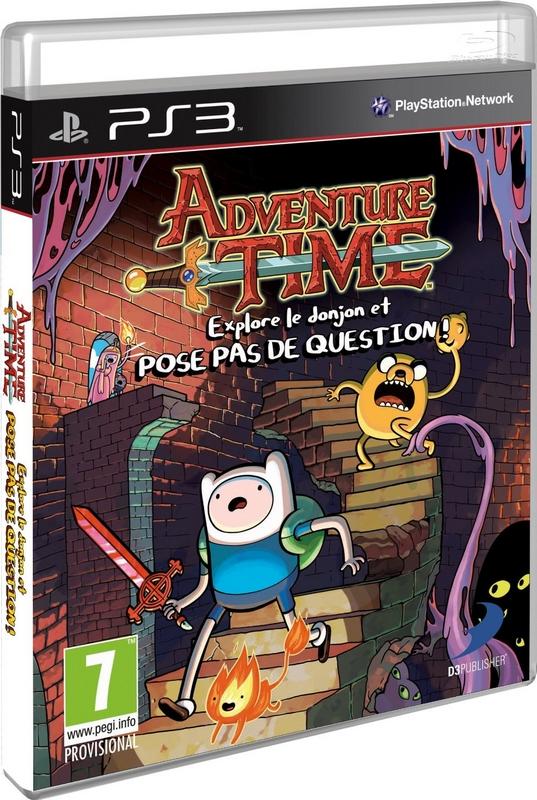Adventure Time PS3 Francais