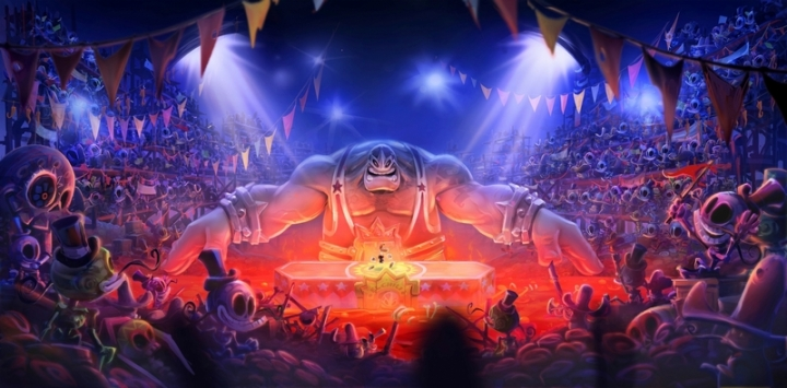 Artwork Presentation Rayman Legends PS Vita