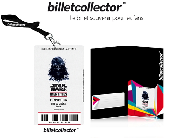 Billet Collector Star Wars Identites
