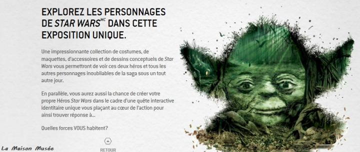 Exposition Star Wars Identities France