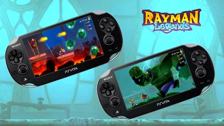 Rayman Legends PS Vita Niveaux Invasions