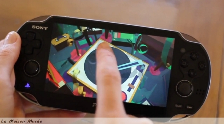 Tactile PS Vita Tearaway Usage