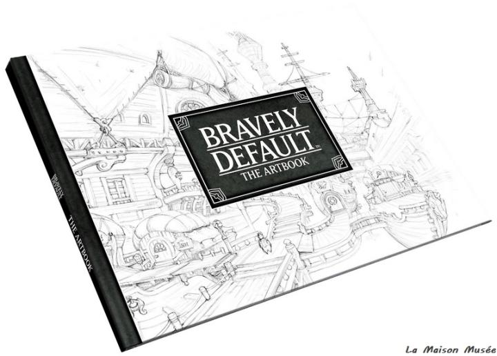 Pages Artbook Precommande Bravely Default