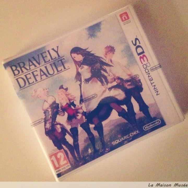 Bravely Default Blister 3DS Fr Pal