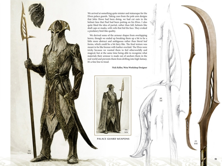 Desolation Smaug Livre Art et Design Extrait Daniel Falconer
