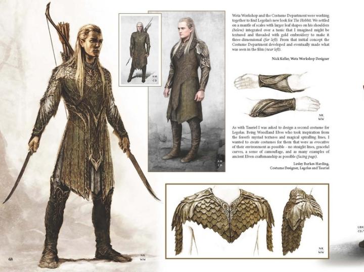 Extrait Hobbit Desolation de Smaug Art Design Chroniques Artbook