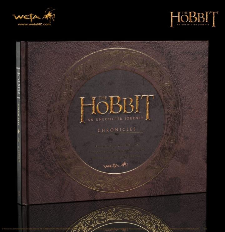 Le Hobbit 1 Chroniques Art Design Livre Artbook
