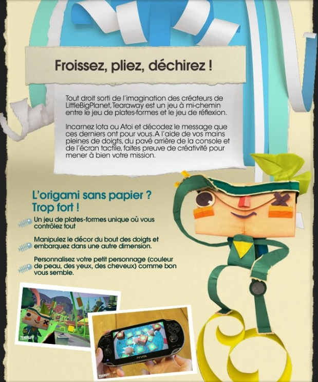 Press Artwork Tearaway