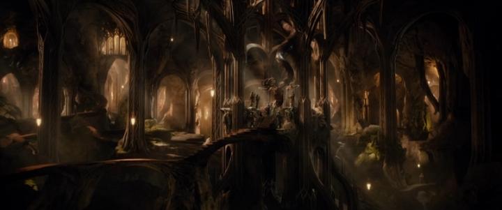 Une des raisons pour lesquelles The Hobbit peut se considérer à la fois comme divertissement et plaisir certain.