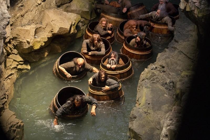 Tonneaux The Hobbit 2 Desolation Smaug