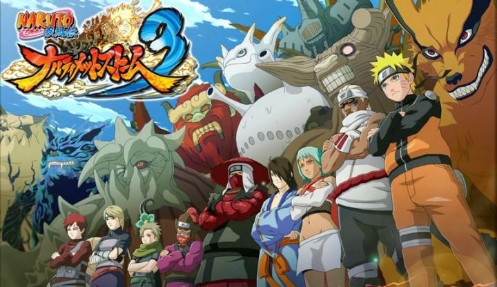 Naruto Shippuden Monstres à Queues Artwork