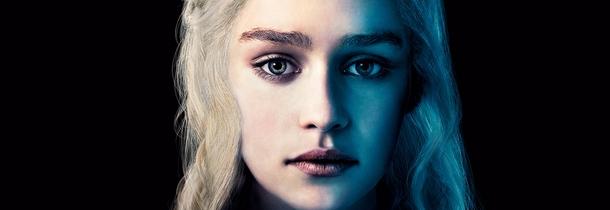Emilia Clarke Khaleesi Game of Thrones Saison 4