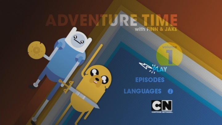 DVD Adventure time france