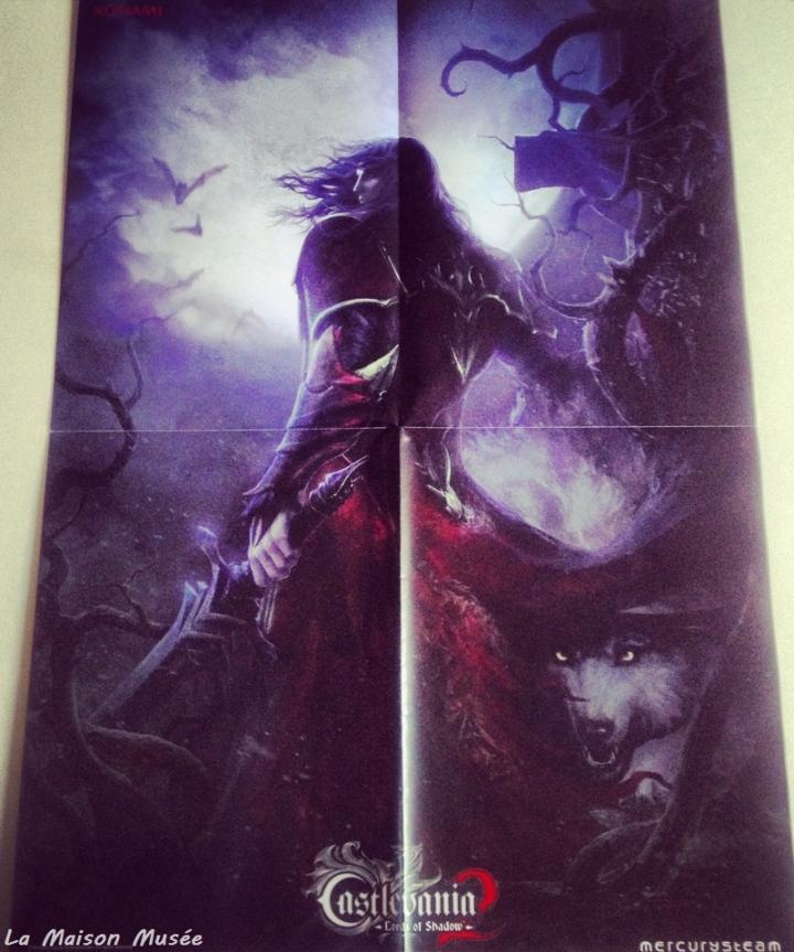 Poster A4 Promo Castlevania