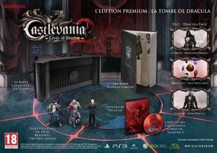 Castlevania 2 PS3 Edition Collector Premium Dracula